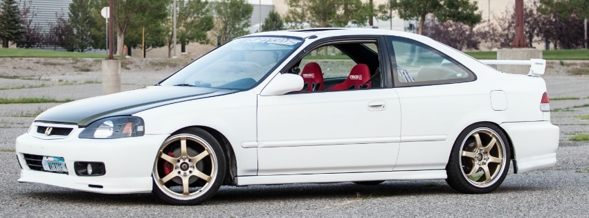 2000 honda civic ex coupe custom