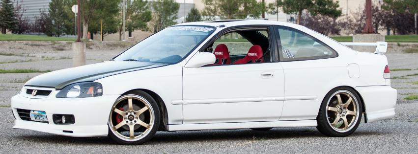 Elegant 2000 Honda Civic EX Coupe